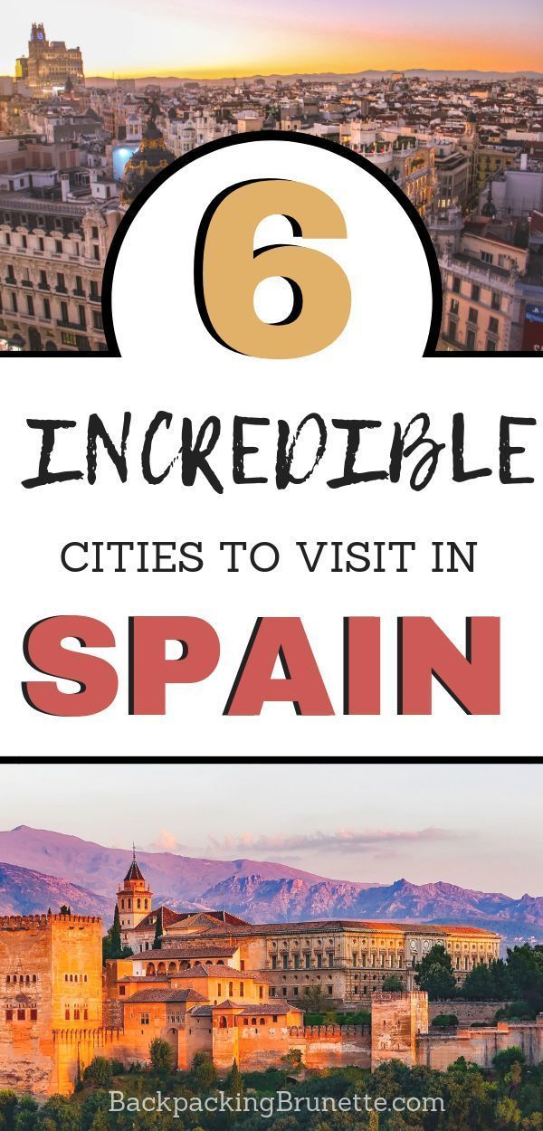 653e68ee35 Interested in Spain travel  Don t miss these incredible cities for your  Spain travel itinerary! Use these Spain travel tips to explore the best  place to ...