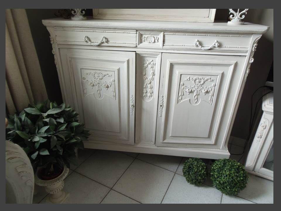 buffet vintage charme champ tre et bucolique par l atelier des 4 saisons gorgeous buffet. Black Bedroom Furniture Sets. Home Design Ideas