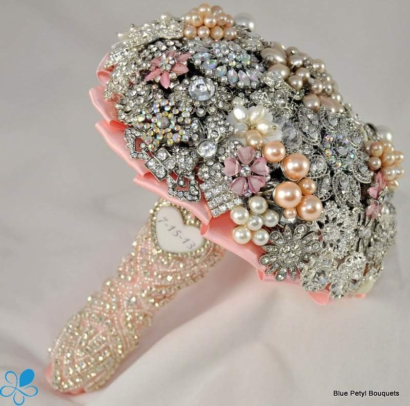 Blush Brooch Bouquet