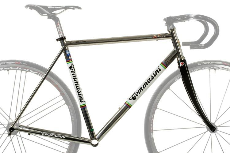 steel bike frame x fire tommasini