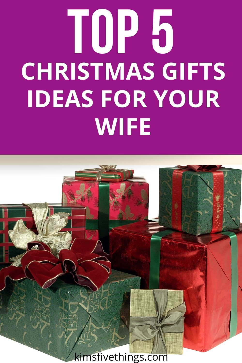 Top 5 Christmas Gifts For Your Wife Best Gifts To Pamper Wife Kims Home Ideas In 2020 Top 5 Christmas Gifts Inexpensive Christmas Gifts Christmas Gift For You
