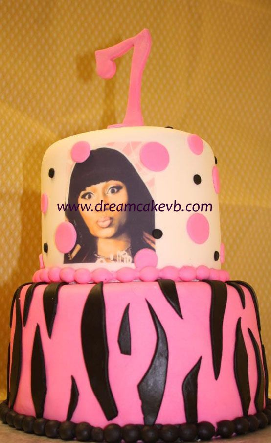 Nicki Minaj Cake Happy 7th Birthday Nya Pinterest Nicki Minaj