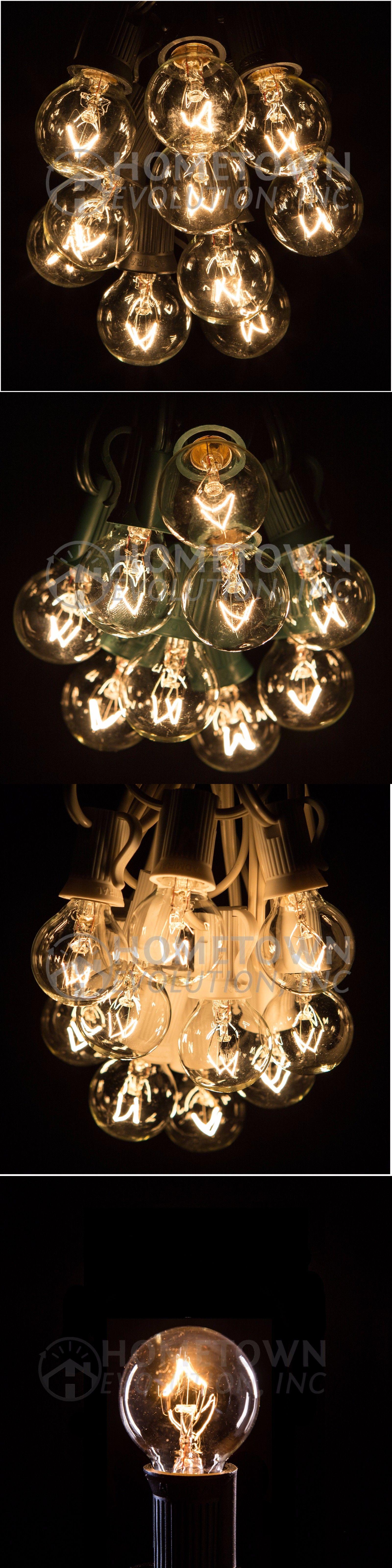Outdoor String Lights 183394: 100 Foot Outdoor Globe Patio String Lights    Set Of 100