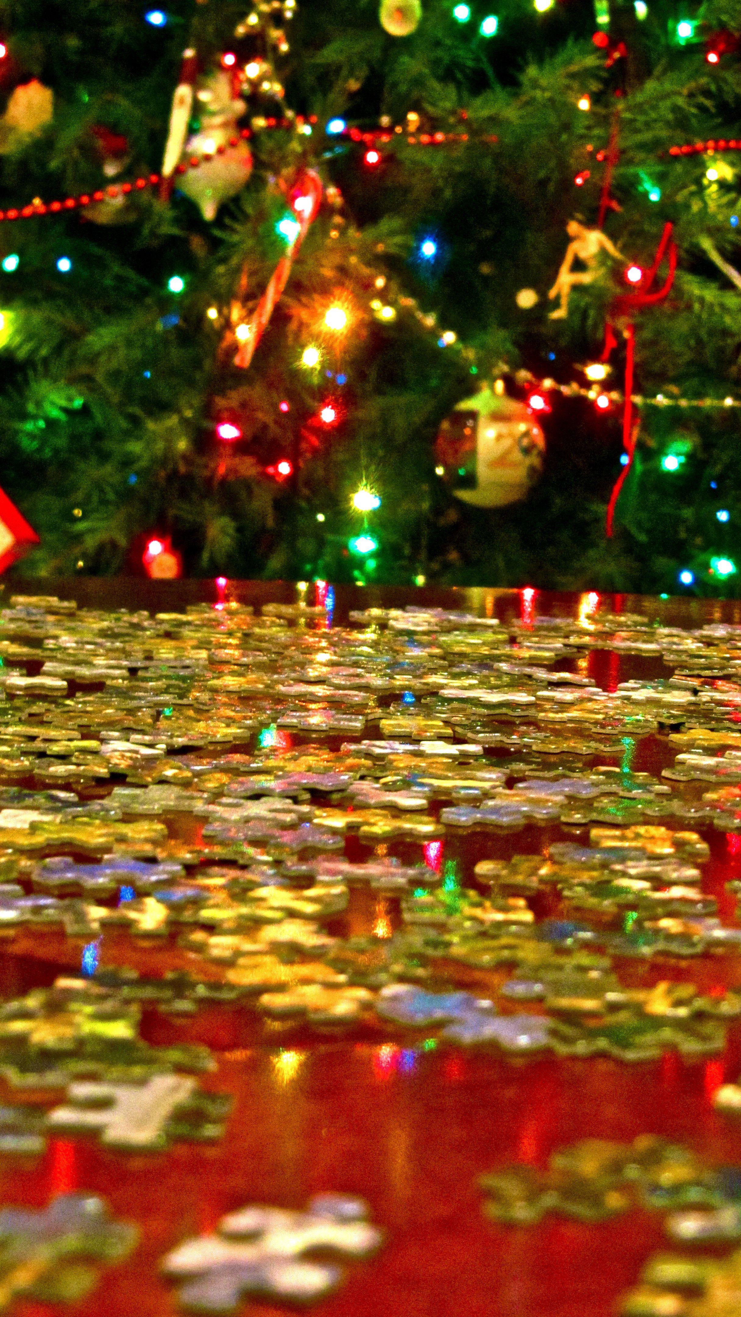 Puzzle | Christmas tree skirt, Christmas, Holiday decor