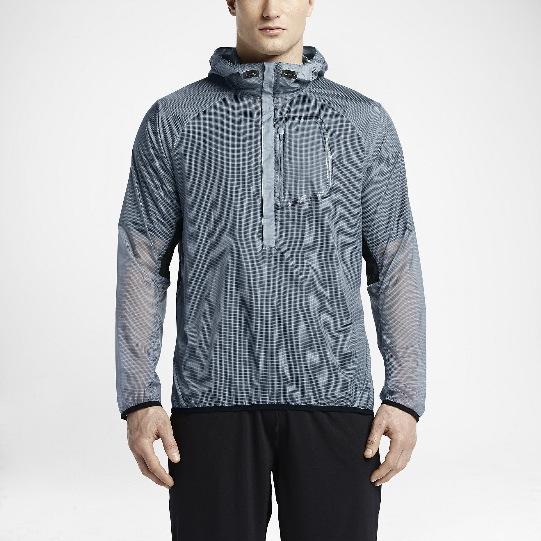 Nike Ghost Shell 3/4-Zip – Veste de training pour Homme. Nike