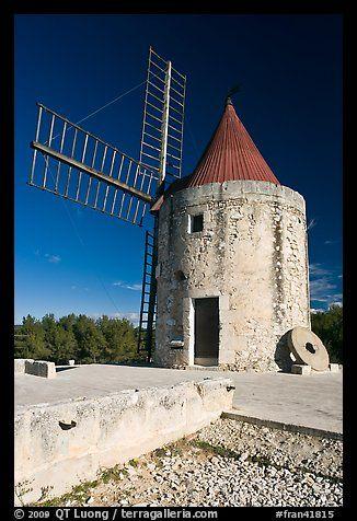 Alphonse Daudet Moulin, Fontvielle. Provence, France