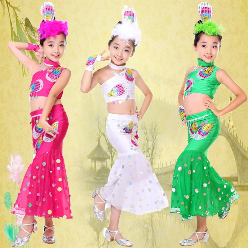 b06a588ab kids dance wear Children s costumes The princess peacock dance ...