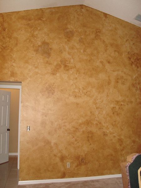 I Want My Dad To Paint My Living Room Like This Faux Finish