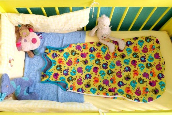 Tutorial Coser Un Saco De Dormir De Verano Para Bebé Y Niño Sewing Projects Baby Patterns Free Yarn