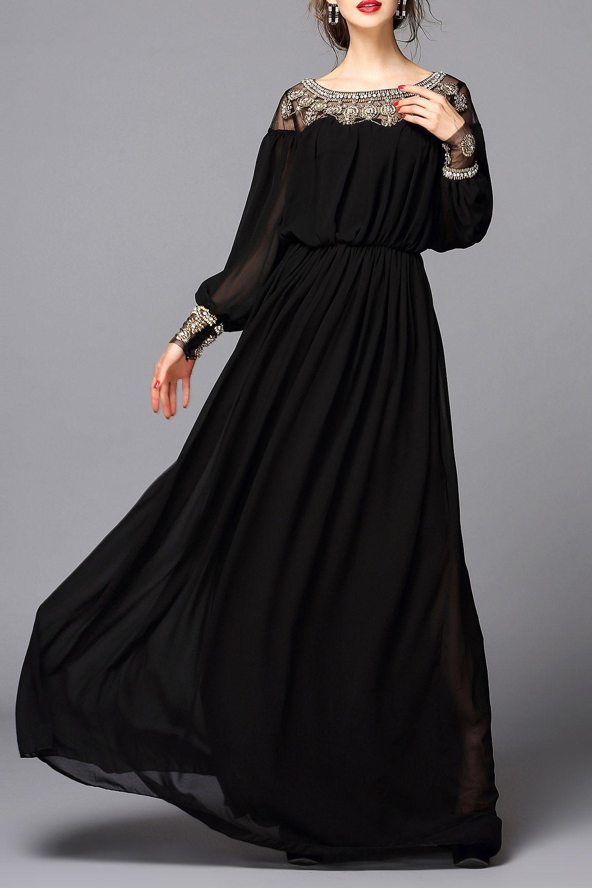 Beaded evening dress udud my style pinterest beads maxi dresses