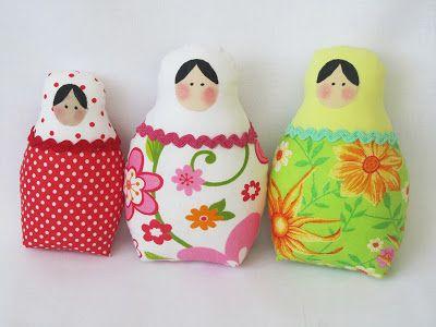 Matryoshka Tilda Dolls | tildas | Pinterest | Kuscheltiere und Puppen