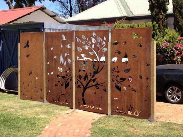 paravent de jardin 15 mod les pour tous les styles de d co fences gates and gate. Black Bedroom Furniture Sets. Home Design Ideas