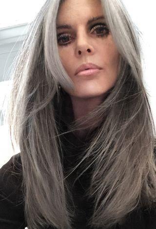 grey annika von holdt hair