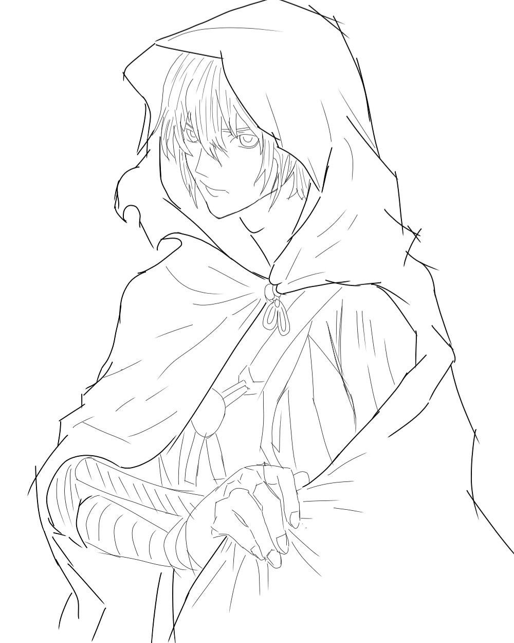 croquis d'anime - #anime #sketch - #drawingchallenge