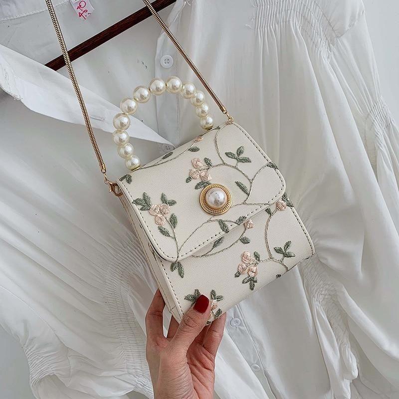 Sacs à bandoulière en cuir perlé pour femmes 2020 sacs à main de luxe designer dames main fourre-tout sac à bandoulière sac à main une femme principale   – Topuklu ayakkabılar