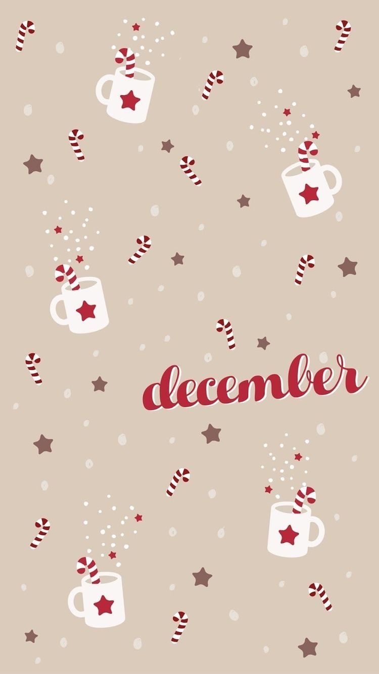 December Christmas Phone Wallpaper Wallpaper Iphone Christmas Xmas Wallpaper