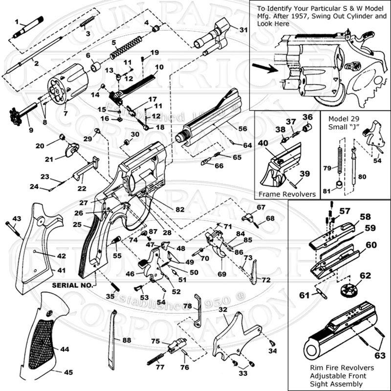 Schematic Image   Tactical   Guns  Smith wesson  Revolver