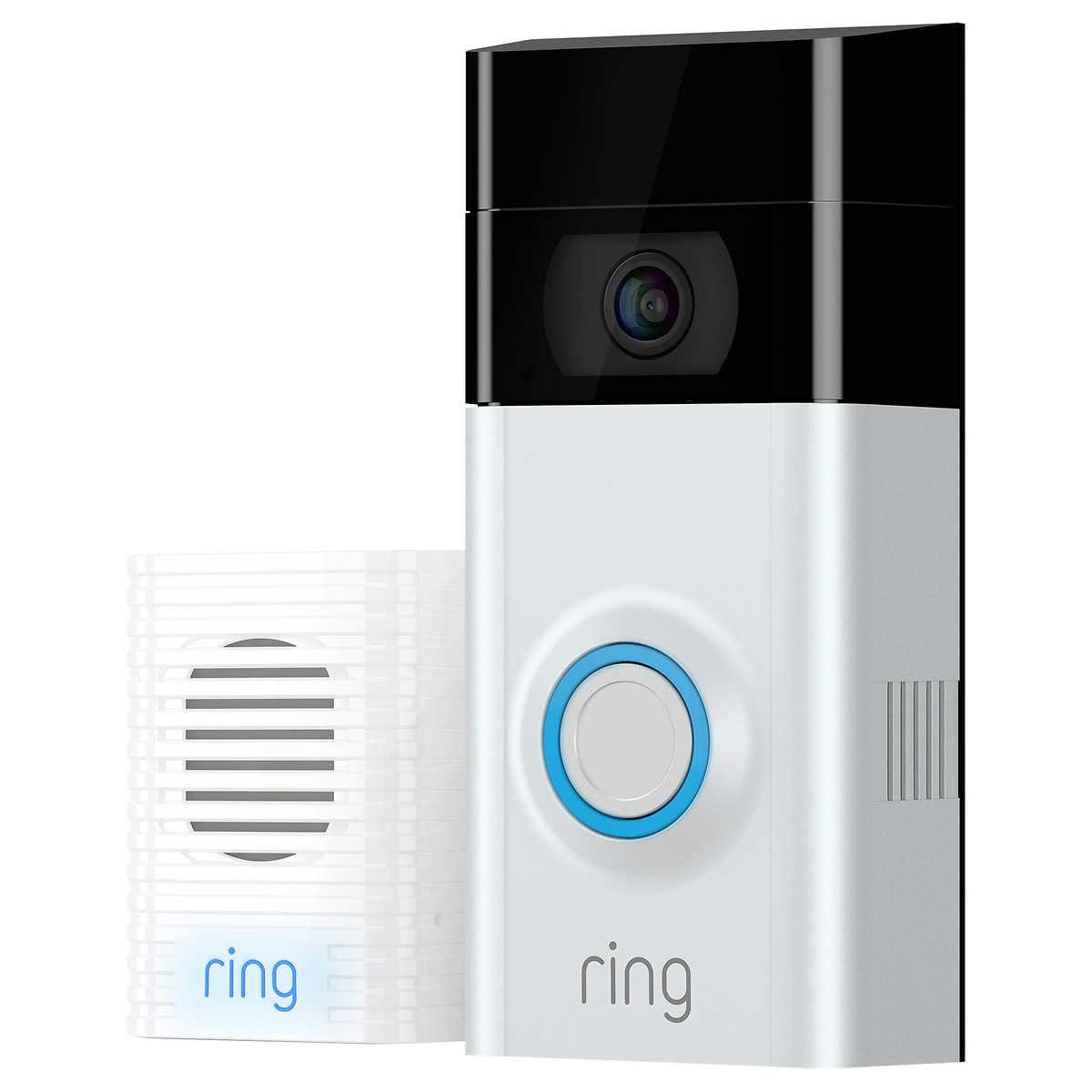 $140 costco ring 2 | TVs | Ring video doorbell, Ring video