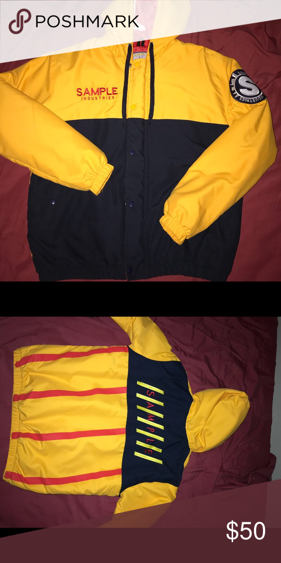 Sample Ind Bomber Jacket Size Large Brand New Tommy Hilfiger Jackets Coats Varsity