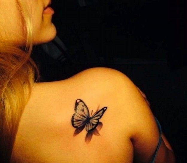 Tatuaje Mariposa 3d Pie Buscar Con Google Tatuaje De Mariposa En El Hombro Mariposa Tatuaje Tatuaje 3d