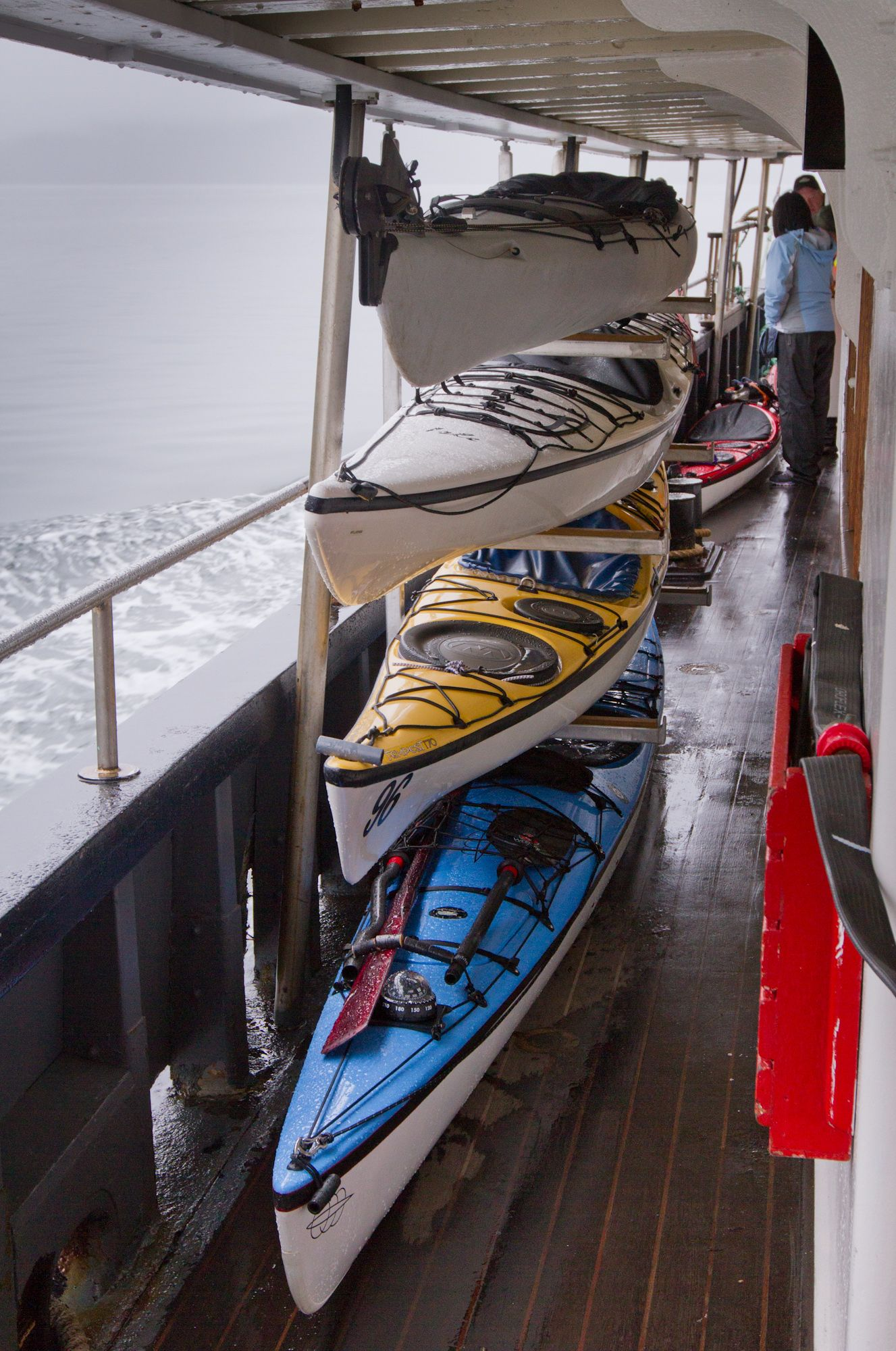 Travel aboard the MV Uchuck III with your kayak for a trip of a lifetime!