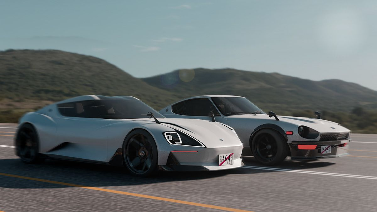 Datsun Fairlady Z 2020 Full Project On Behance Datsun Nissan Z Cars Nissan Z