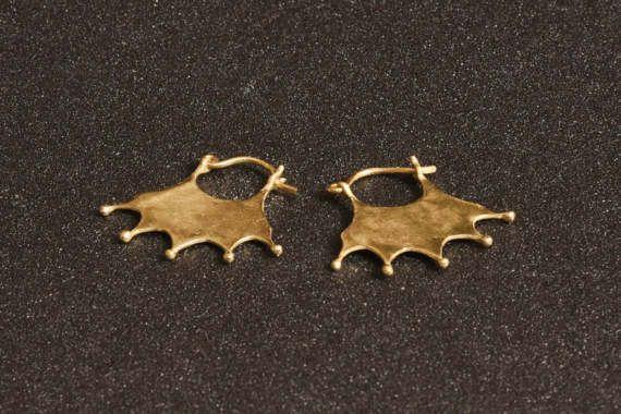 14K gold earrings Solid gold earrings Gold hoop earrings by LirLir (scheduled via http://www.tailwindapp.com?utm_source=pinterest&utm_medium=twpin&utm_content=post150044195&utm_campaign=scheduler_attribution)