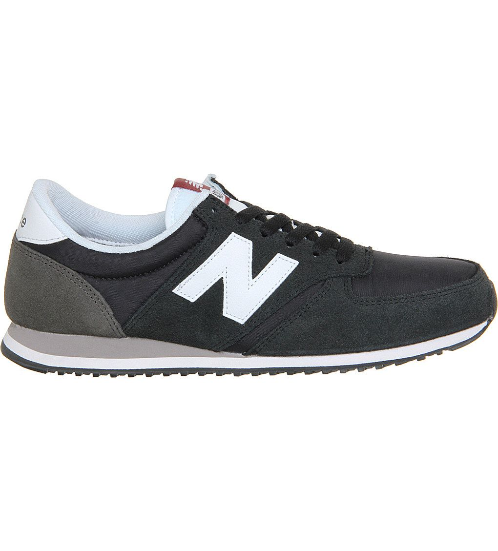 NEW BALANCE 420 suede and mesh trainers | New balance 420, Suede ...
