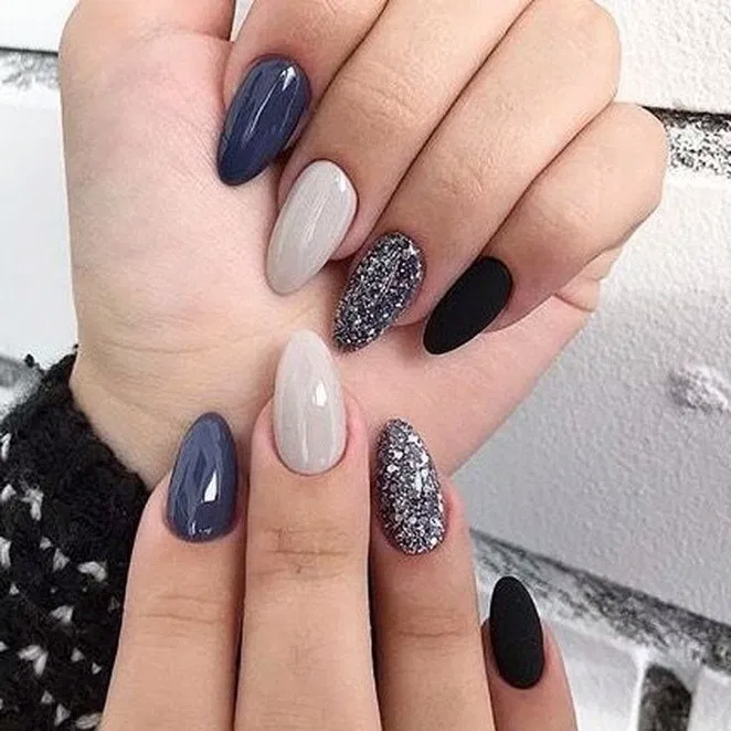 25 amazing winter nail art designs 2019 ideas page 43 | homedable.com