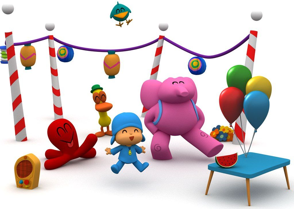 Pocoyo Party with Friends
