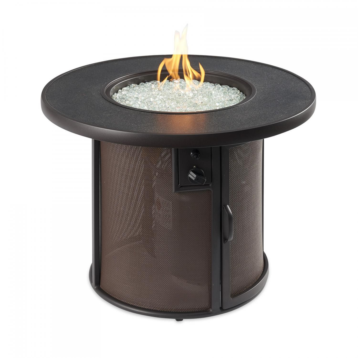 """The Outdoor GreatRoom Company Stonefire 31"""" Round Natural ..."""