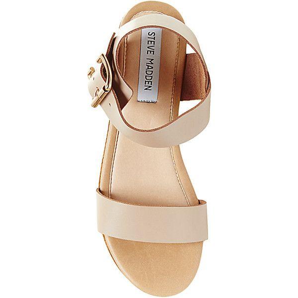 f84055da82f Steve Madden Women s Nylee Platform Wedges Wedge Sandals (39 CAD) ❤ liked  on Polyvore