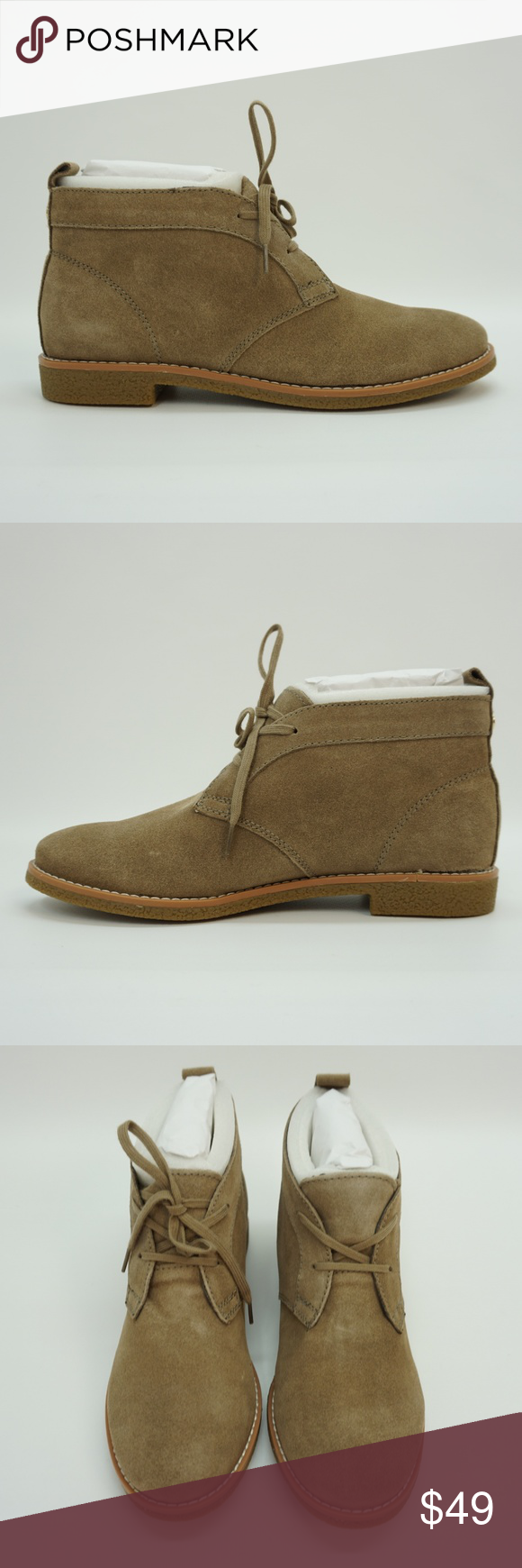 635fd1b6d NEW Tommy Hilfiger Lace Up Chukka Suede Ankle Boot   New in Box - review