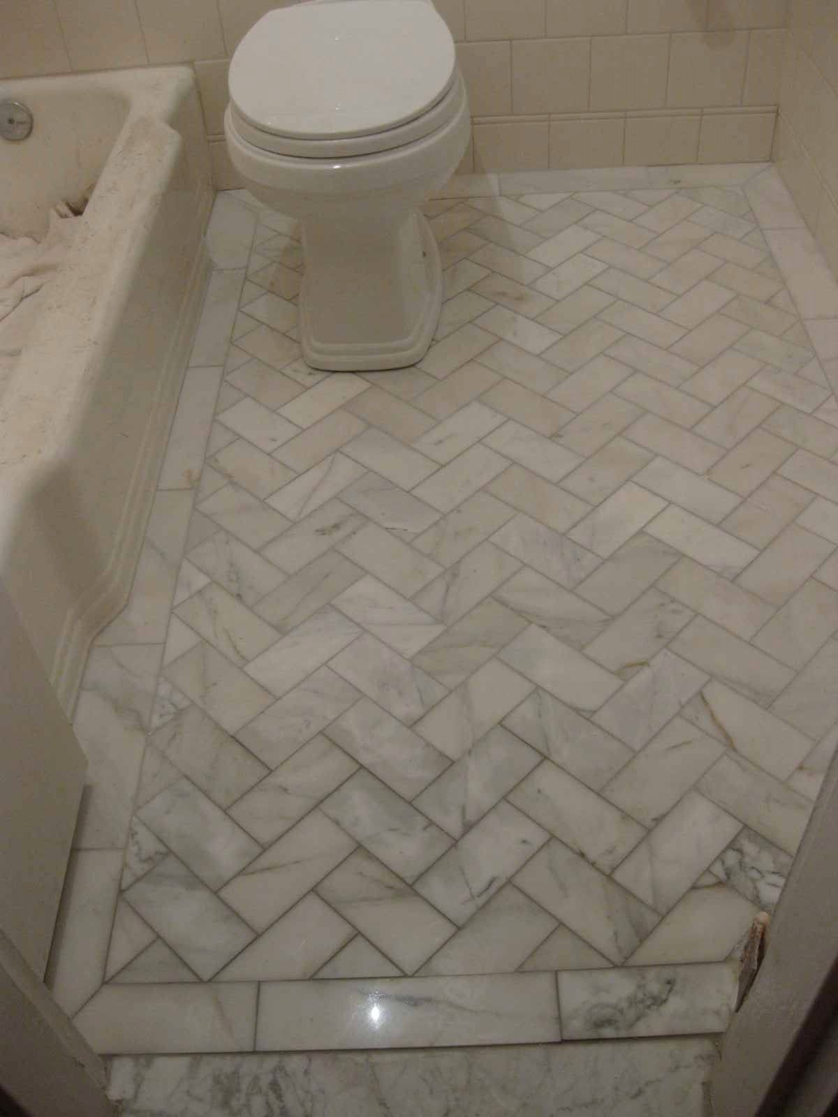 We loved all the clean white marble and diagonal floor tile we loved all the clean white marble and diagonal floor tile pattern from the slo bathroom doublecrazyfo Gallery