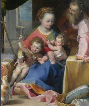 Federico Barocci: Madonna del gatto  (ca. 1574, National Gallery, London)