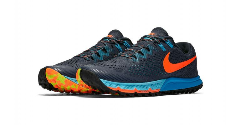 9556afea3098 Men s Nike Air Zoom Terra Kiger 4 Running Shoe - Thunder Blue Total  Crimson Blue Fury