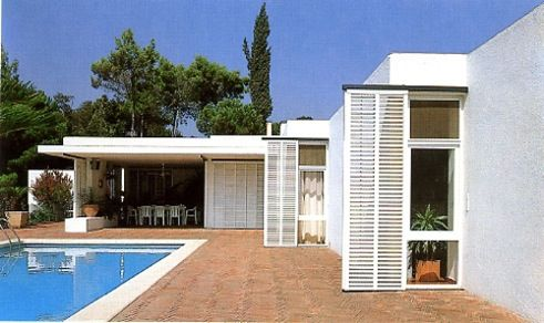 Casa uriach coderch arquitecto coderch pinterest - Arquitecto sitges ...