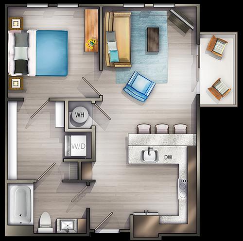 Studio, 1, 2, and 3 Bedroom Apartments in Nashville, TN