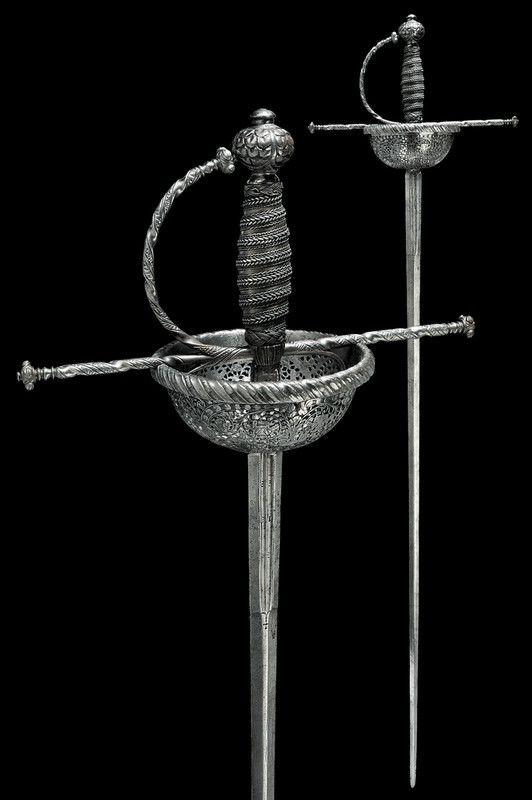 Cup-hilt Rapier Dated: second quarter of the 17th Century Culture: Spanish Measurements: 127cm