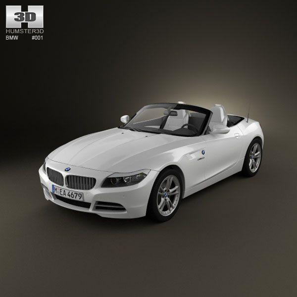 3d Model Of Bmw Z4 With Hq Interior 2010 Bmw Z4 Bmw Model