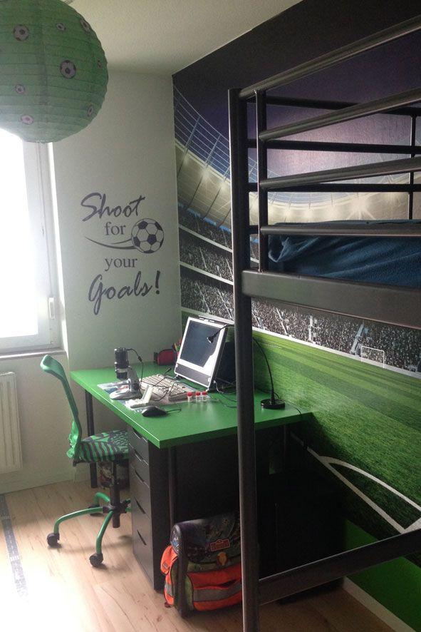 Ideen für ein günstiges FußballKinderzimmer! Fußball
