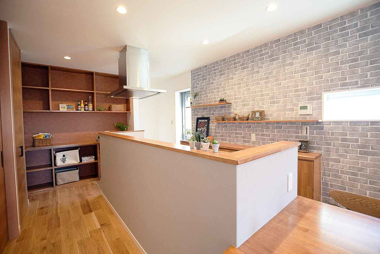 ブルックリンスタイルのお家 宮崎で注文住宅を建てる東洋ホームの写真