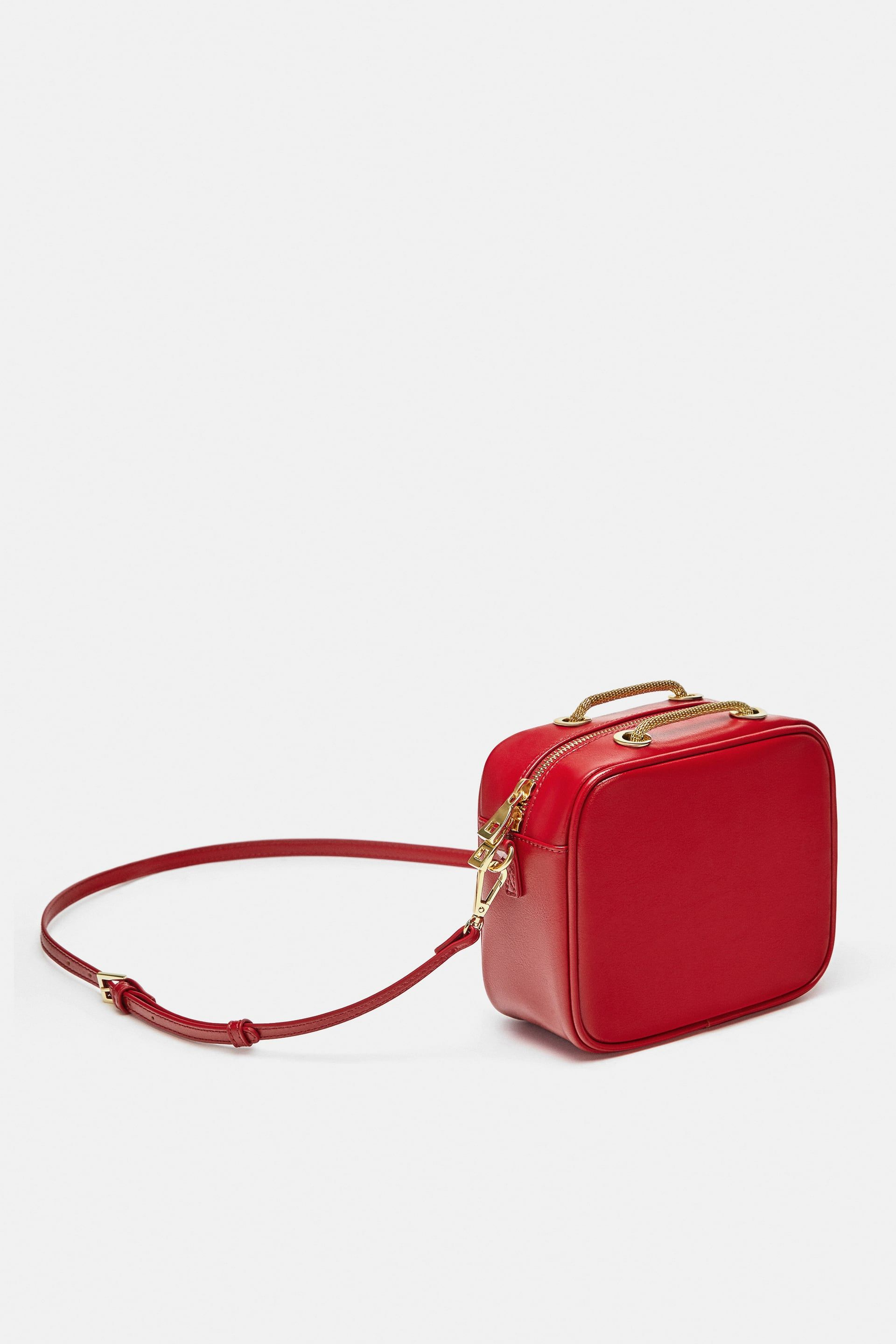 Image 1 of DETAILED CROSSBODY BAG WITH CHAIN from Zara   fw18 ... 1cc1186e4d