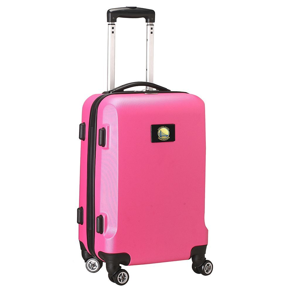 Golden State Warriors 19 1/2-in. Hardside Spinner Carry-On, Pink