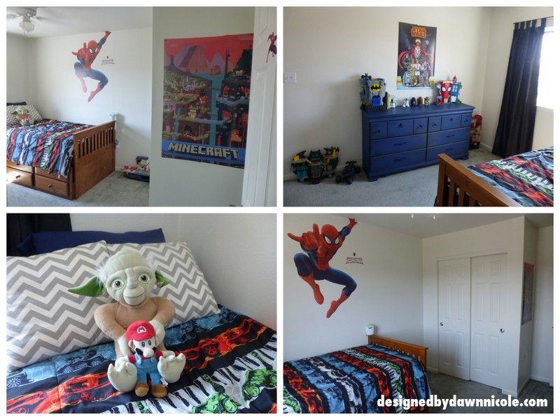Boy's Room Mini-Makeover