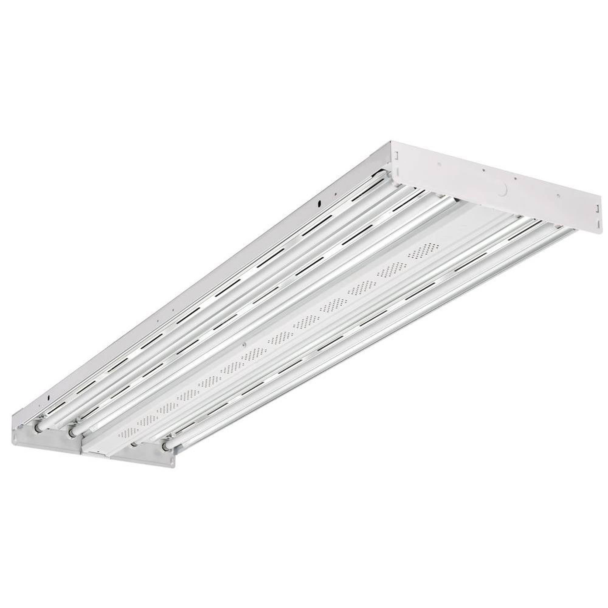 Lithonia Lighting I Beam White Aluminum Fluorescent High Bay Light