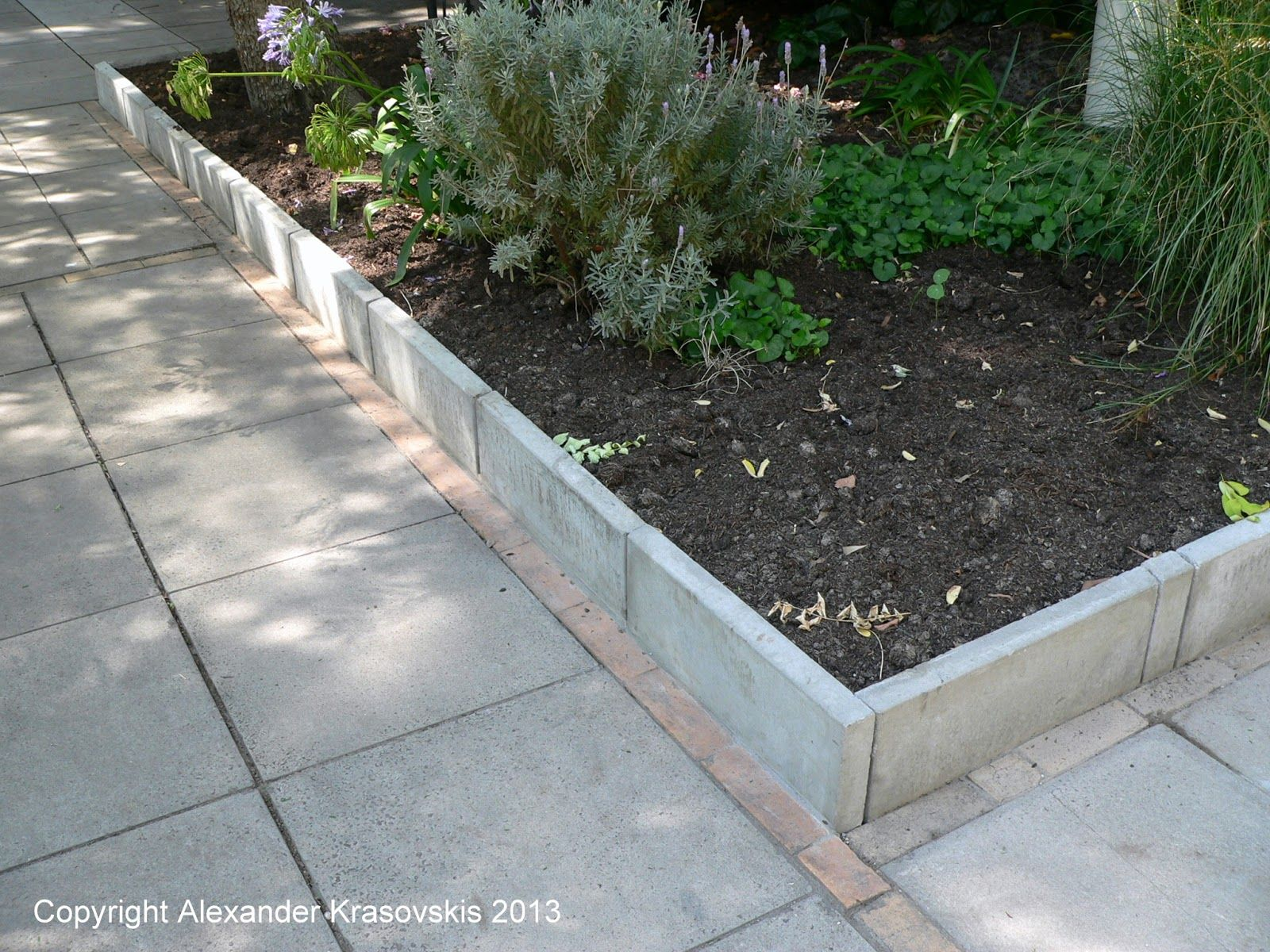 Tall Paver Edging