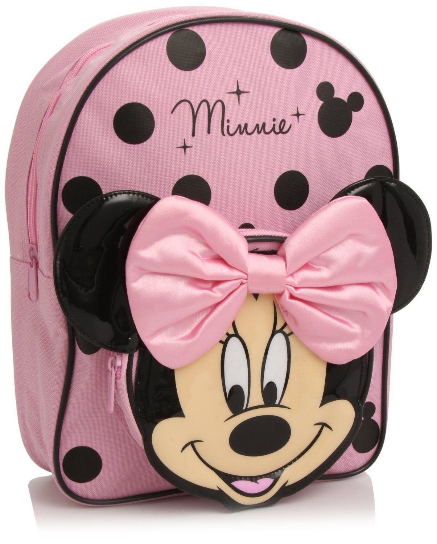 cbb6d635c Disney Minnie Mouse 3D Backpack Rucksack School Bag Cute OFFICIAL ...