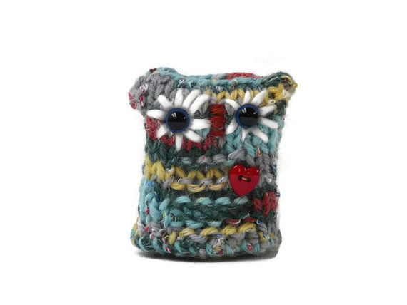 Knitted Owl Amigurumi Owls knitting Plush Toy by TheWoollyOwlhouse