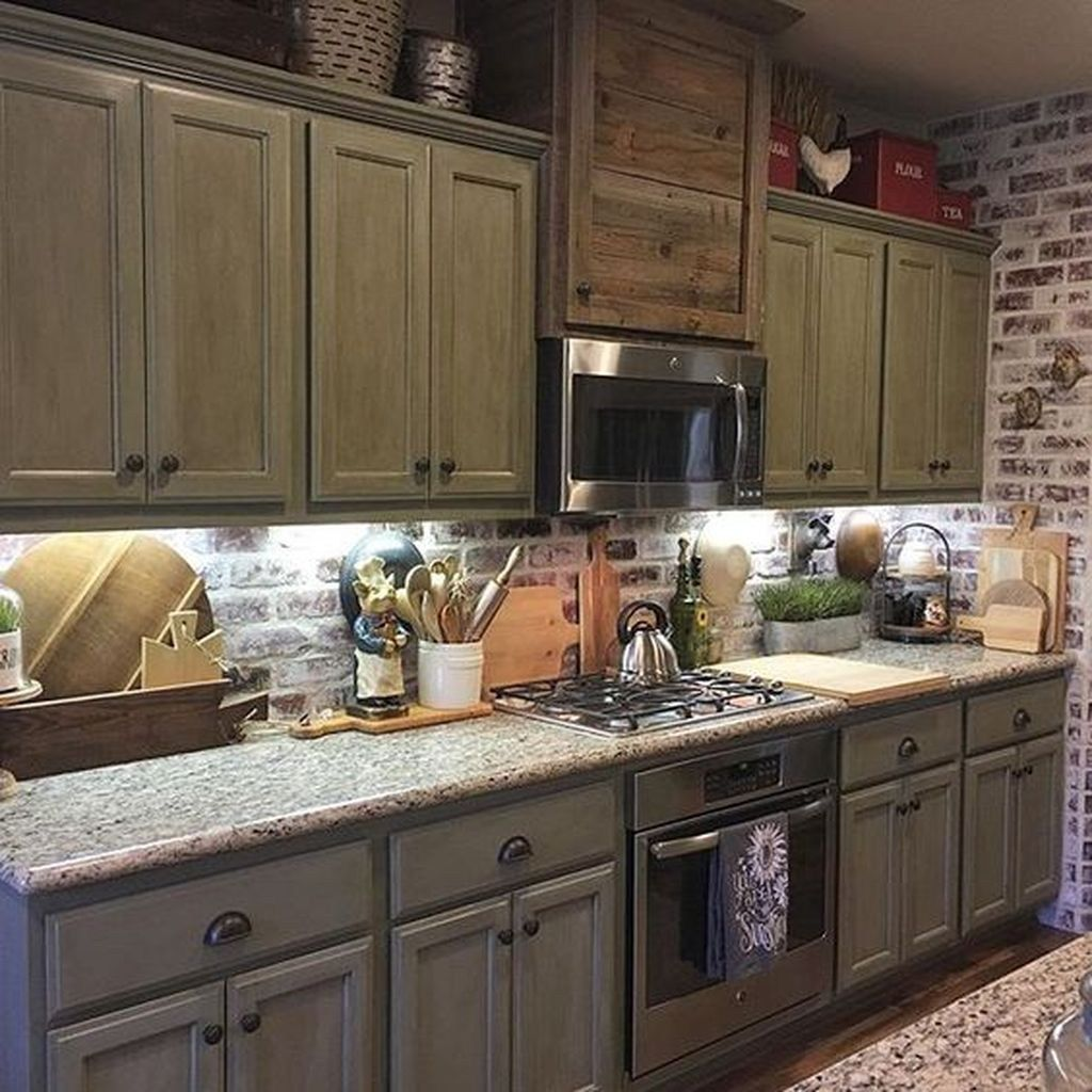 46 Inspiring Rustic Country Kitchen Ideas To Renew Your ... on Rustic:mophcifcrpe= Cottage Kitchen Ideas  id=20949
